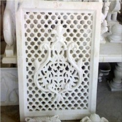 Handmade Kalash Design Marble Jali