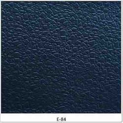 Black Polished Anti Static Leather, For ESD Chairs, Thickness: 0.80, 0.95 Mm