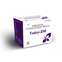 Terbinafine Hydrochloride 250mg Tablets
