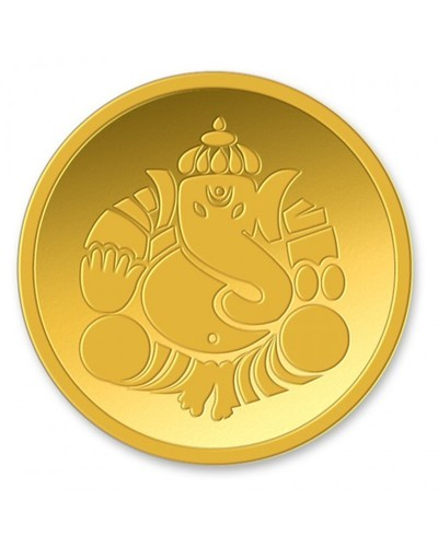 Ganesha Gold Coins at Rs 3000 /unit | Gold Coins | ID