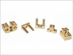 KBI Brass Fuse Contact Brass Terminal - Fuse Cutout, Nickel
