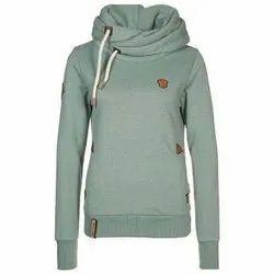 Ladies Fashion Cotton Hoodies, Size: S-XXL