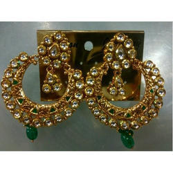 Ganga Imitation Gold Plated Earring