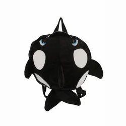 instabuyz Velvet Kids Sof Toy Fish School Bag
