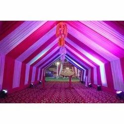 Multicolor Tent House, For Party