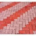 Colored Zig Zag Paver