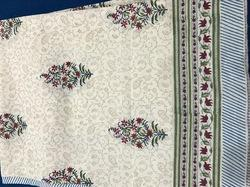 Blockprint Bedcovers, Mughal Flower Butti