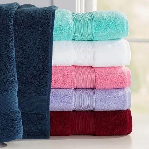 Plain High Quality Cotton Terry Towel Size 140 X 70 Cm Rs 185