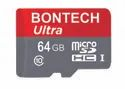 Bontech Ultra 64gb Memory Card With 6 Month Guarantee, For Laptop, Size: Microsd