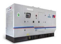 FM 650kVA Force Prime Duty Diesel Generator