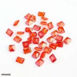 Cubic Zirconia Color Octagon