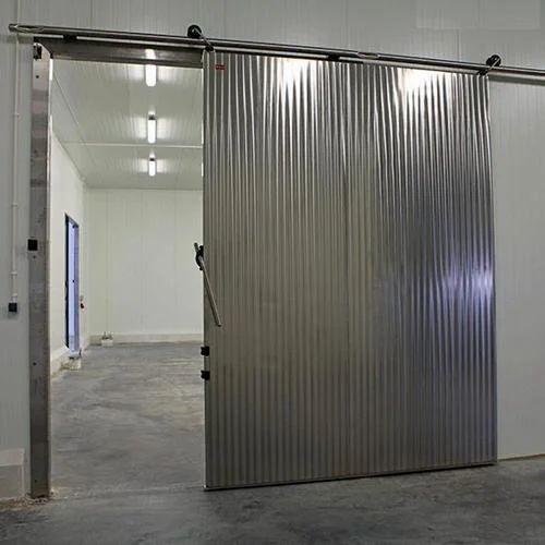 Beau Stainless Steel Sliding Door
