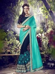 Designer Embroidered Work Saree