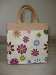 Self Handle Jute Bag