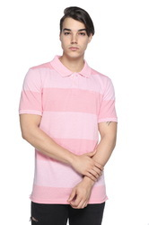 Striped Polo T-Shirt For Men