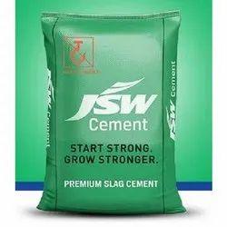 JSW Premium Slag Cement, Packaging Size: 50KG, Cement Grade: Grade 53
