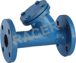 Flange End CI Y Type Strainer