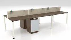 Mild Steel Under Structure for Office Modular Furniture