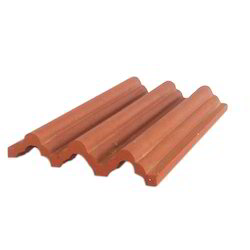 Clay Terracotta Roof Tile, Dimensions: 8 X 5.5 Inch