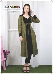 6007 Designer Woolen Kurtis