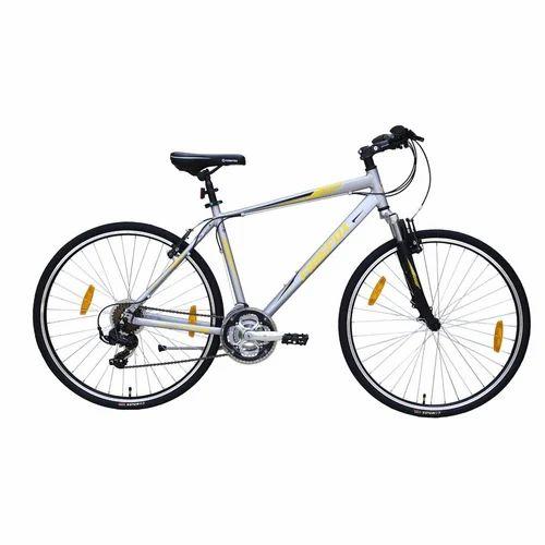 6d4c459b342 Firefox Road Runner Pro-V Frameset 16 Inch Silver Color Hybrid Bike ...