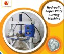Semi Hydraulic Paper Plate Cutting Machine