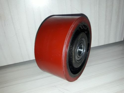 Red Iron And Polyurethane CI PU Wheels