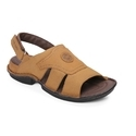 Leather Red Chief Rc278 Pu Rust Casual Sandals, Size: 7 And 8