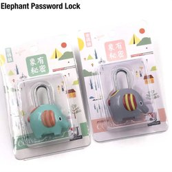 ELEPHANT NUMBER LOCK