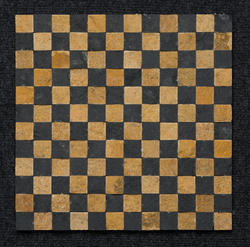 Teak And Grey Sandstone Pillar Mosaic Tiles