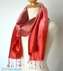Pure Silk Hand Dyed Indian Scarves