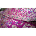 Party Wear Embroidered Ladies Pink Designer Silk Saree, 6.3 M (with Blouse Piece)