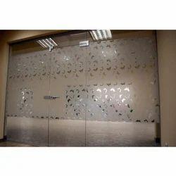 Designer Glass Door