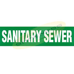 Sanitary Sewer Duromark Pipe Markers