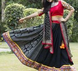 Indian Designer Chaniya Choli - Navratri Garba Chaniya Choli - Lehenga Choli - 2019 New Style