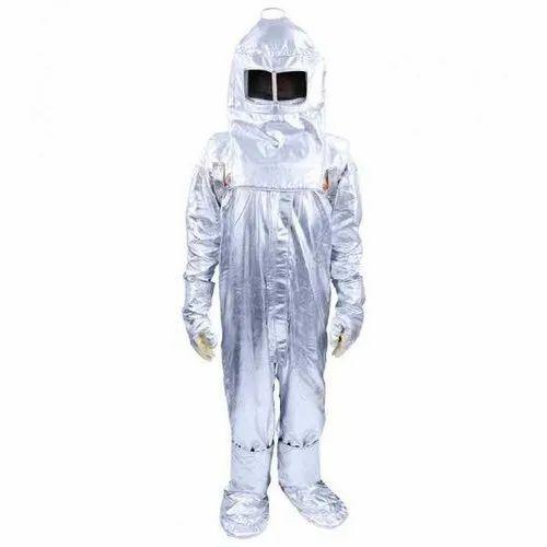 Aluminized Fiber Unisex Fire Suit