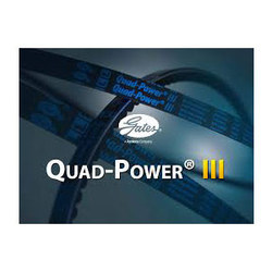 Quad-power Iii Raw Edge, Moulded Notch Narrow Section V-belt