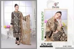 Designer Salwar Suit Charizma Azure Eid Collection