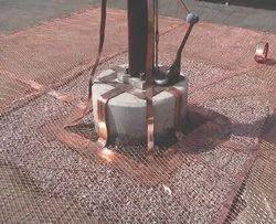 Copper Earthing Grid Mesh