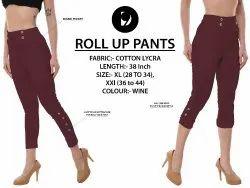 Women Rollup Pants