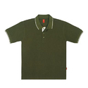 Mens Military Green Polo T Shirt