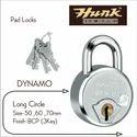 Hunk Pad Lock Dynamo, Size : 70mm