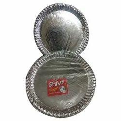 银纸自助餐盘,尺寸:9英寸和13英寸,特点:一次性