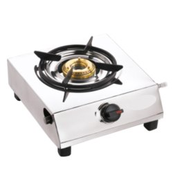 01 Stainless Steel Single Burner Gas Stove