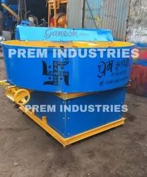 Pan Muller Mixer With Manual Discharge System