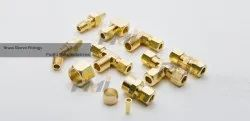 Brass Sleeve Fittings for Chemical Fertilizer Pipe, Size: 3/4 inch