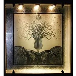 Decorative Acid Etched Glass