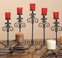Metal Wall Decorative Candle Stand
