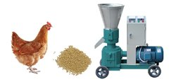 100 Kg/Hr Poultry Feed Pallet Mill