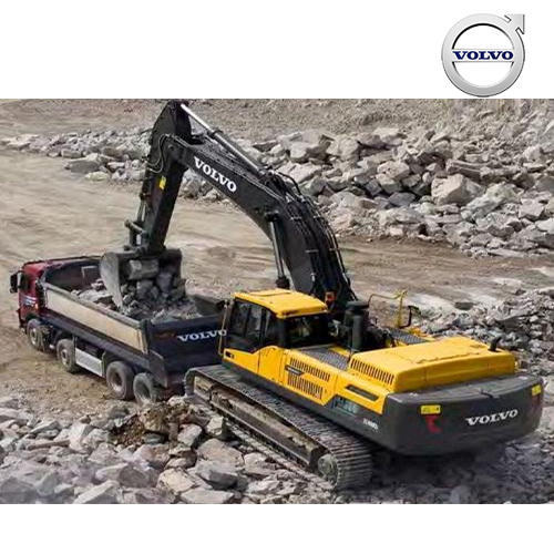 Hydraulic Excavators - Volvo Large Crawler EC380D Excavators